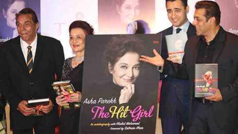 Salman Khan Inaugurates Asha Parekh Autobiography