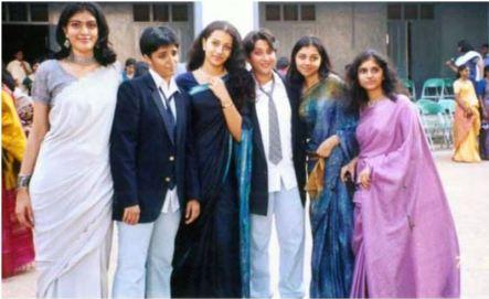 Trisha Krishnan During her College Days