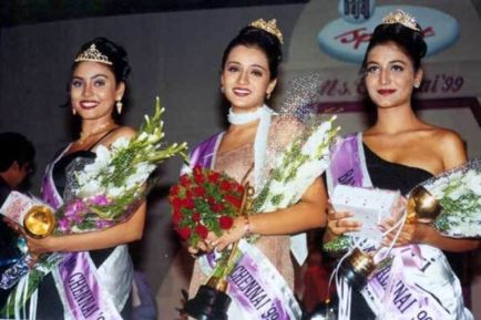 Trisha Krishnan won Miss Madras