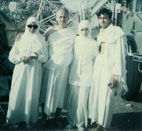 A picture of Jamal Khashoggi's parents and his siblings, Samiha and Riad Khashoggi, in 1969