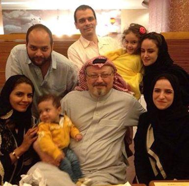 Jamal Khashoggi's children and grandchildren