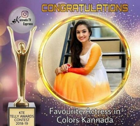Vaishnavi Gowda- Favourite Actress in Colors Kannada 2019