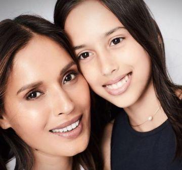 Ujjwala Raut with her daughter Ksha