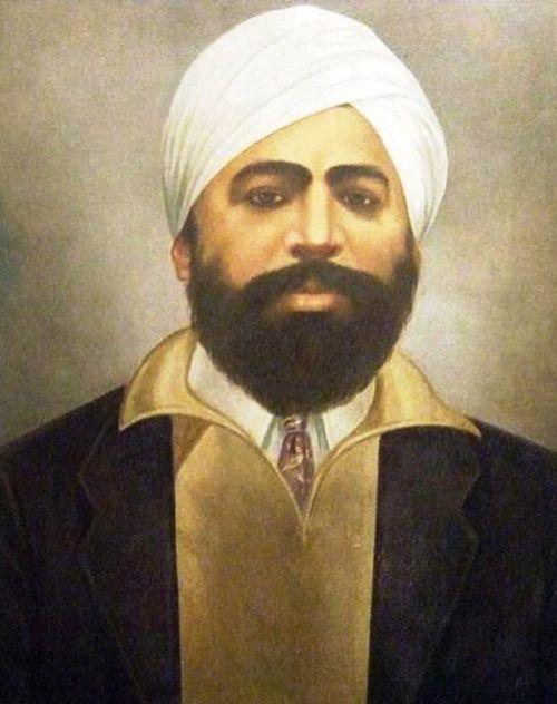 Portrait of Udham Singh