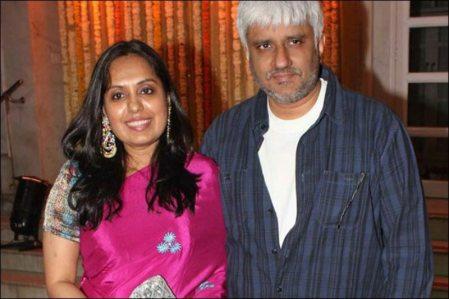 Vikram Bhatt and Aditi Bhatt