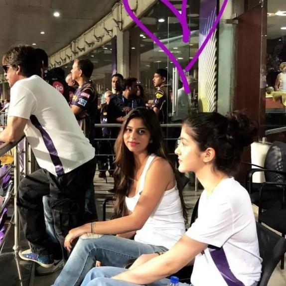 Suhana Khan IPL 2018 pic