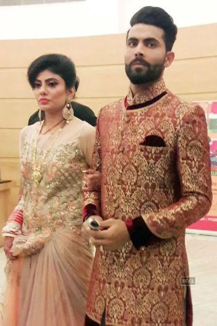 Riva Solanki And Ravindra Jadeja