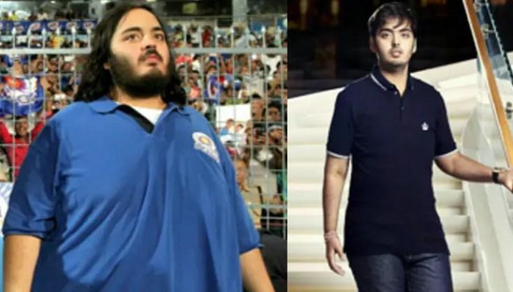 anant ambani weight loss transformation