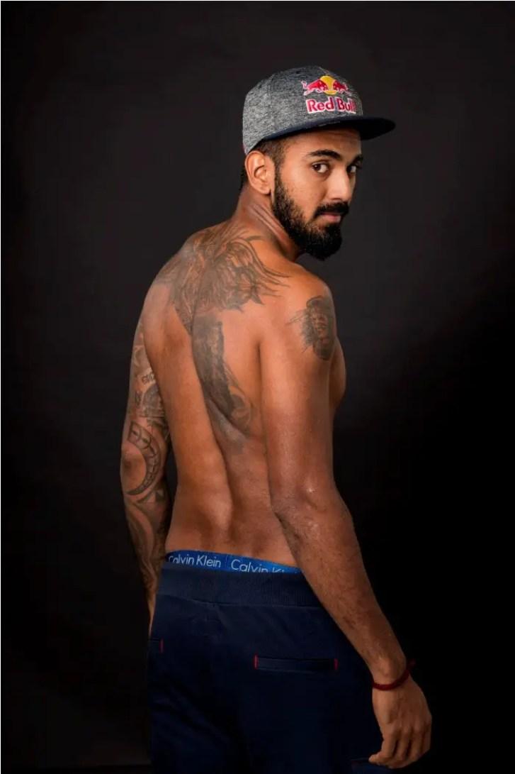KL Rahul tattoos