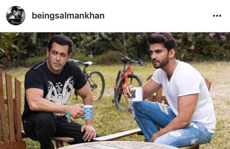 zaheer iqbal and salman khan
