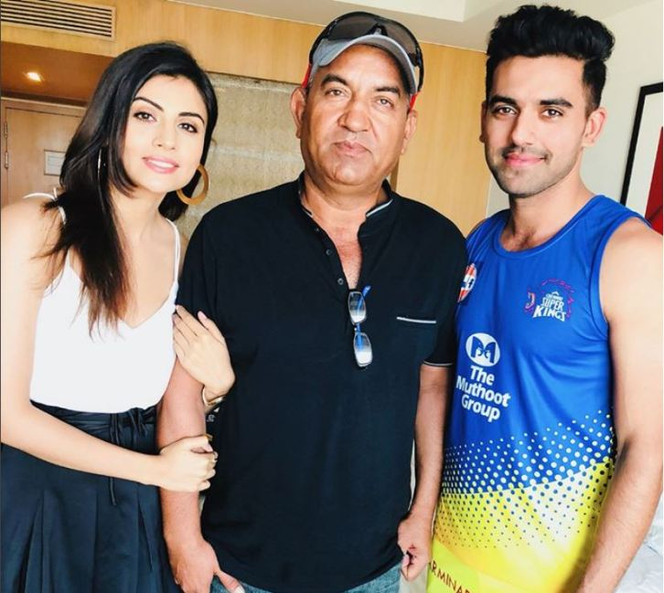 Malti Chahar family Deepak Chahar