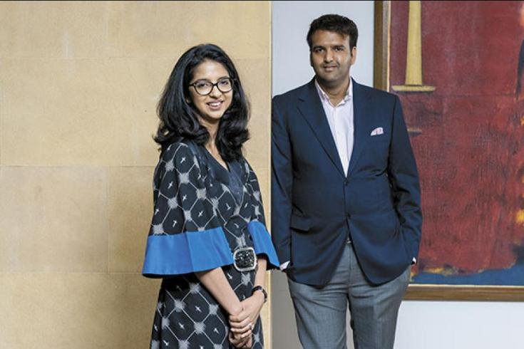 Anand Piramal and Nandini Piramal