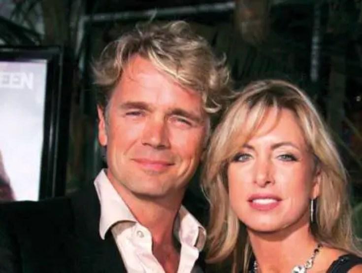 John Schneider with wife Elly