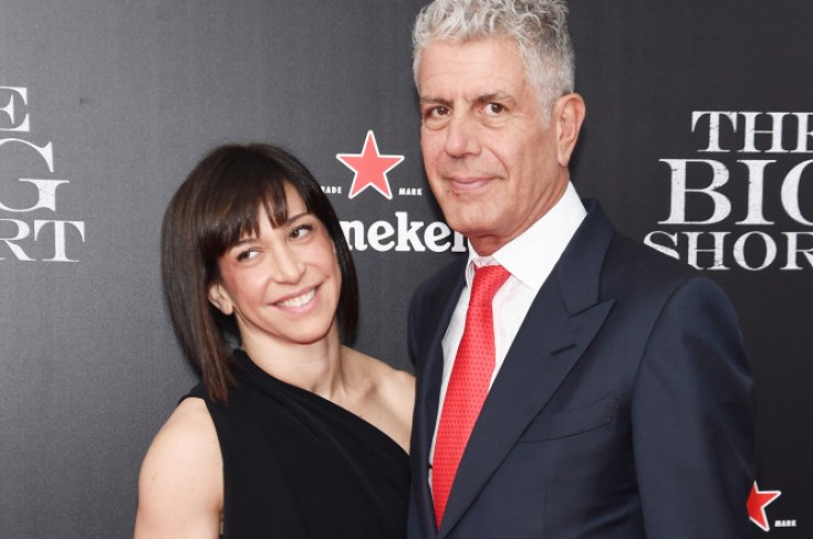 ottavia busia and anthony bourdain