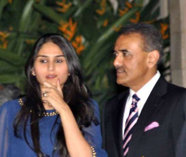 Praful Patel and Poorna Patel