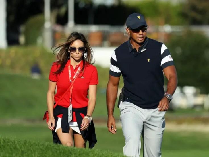 Erica Herman, Tiger Woods Girlfriend