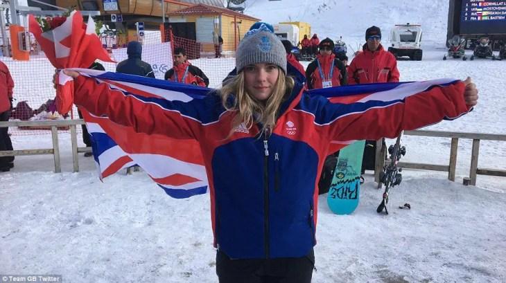 Ellie Soutter, Team GB Snowboarder
