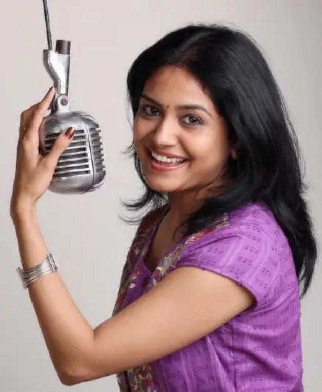 Singer Sunitha Upadrashta