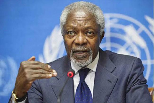 Kojo Annan, Kofi Annan's Son