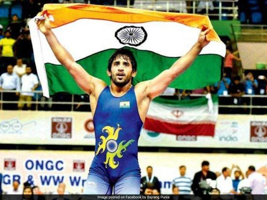 Bajrang Punia, Wrestler