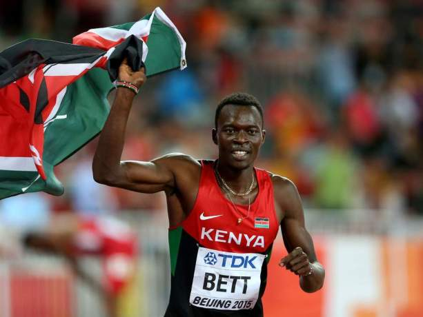 Nicholas Bett, 400 meters hurdles world champion