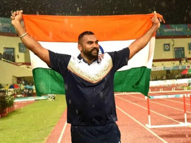 Tejinderpal Singh, Shot Putter Athlete