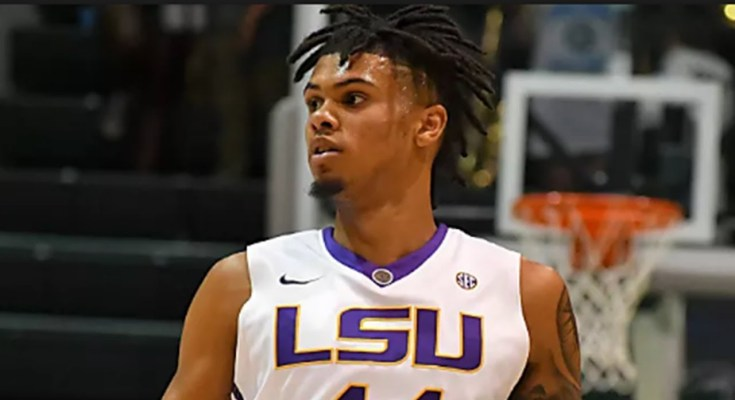Wayde Sims, LSU basketball player