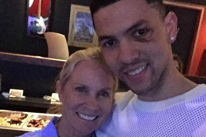 Kristen Rivers with Austin Rivers