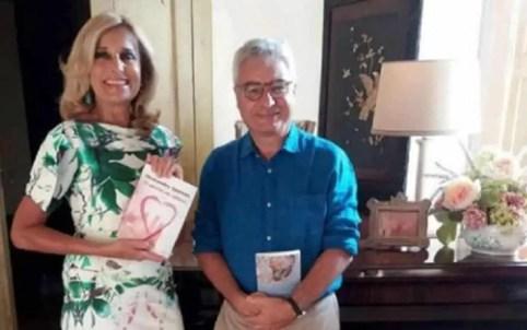 An Image of Nanni Delbecchi and his wife