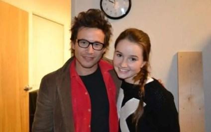 An Image of Jonathan Taylor Thomas and his girlfriend