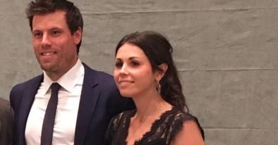 An Image of Bailey Munro Weber and her Husband