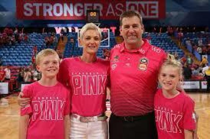 An Image of Trevor Gleeson: and his family