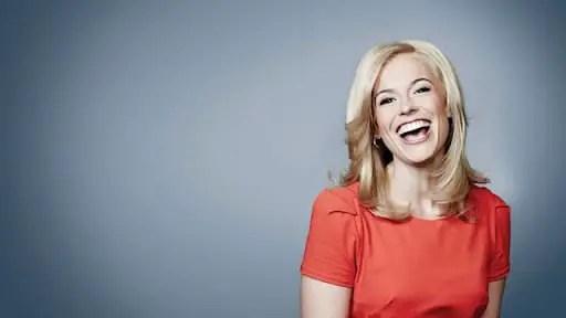 Pamela smiling