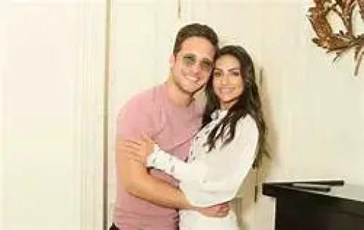 Renata Notni with her boyfriend