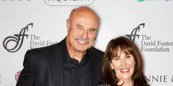 McGraw with her husband