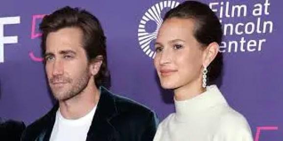 Jeanne Cadieu with Jake Gyllenhaal
