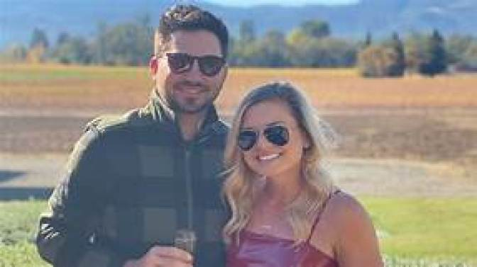 Lindsey Weaver with her husband
