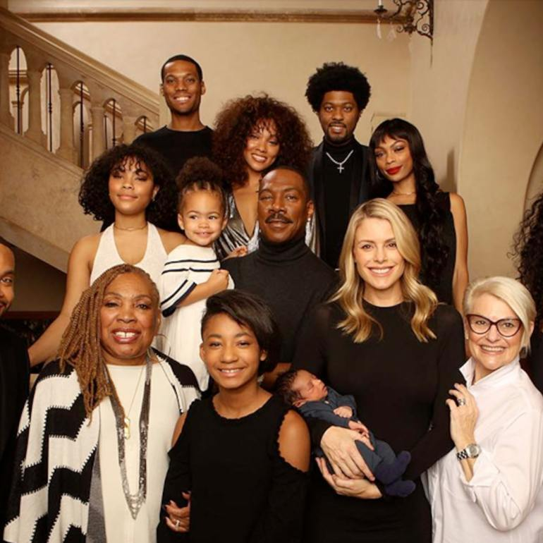 Eddie Murphy Wife and Family