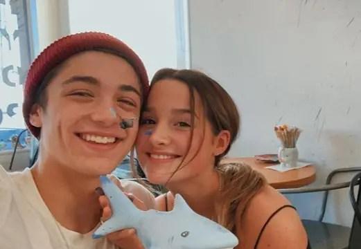 Annie LeBlanc Boyfriend Asher Angel