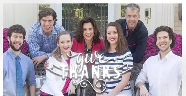 Gretchen Whitmer Family
