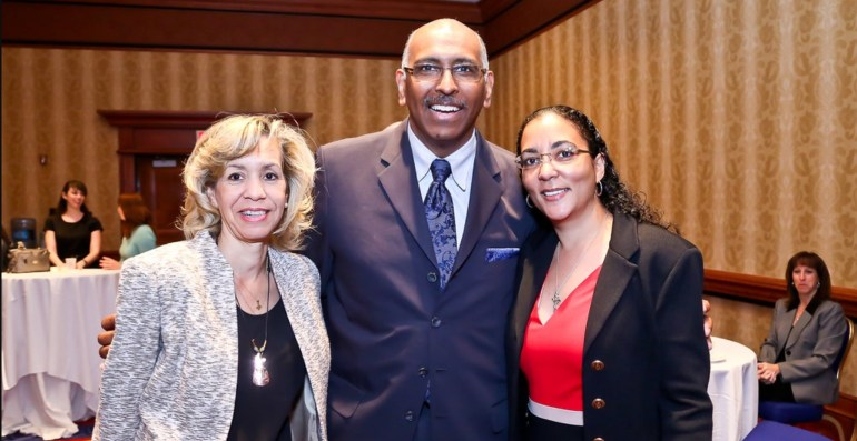 Monica Turner and Michael Steele