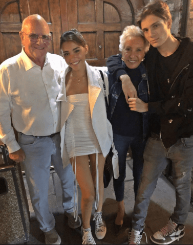 Madison Beer family