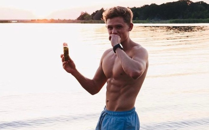 Ryan Trahan Abs