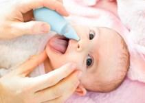 Gejala, Penyebab dan Cara Mengatasi Hidung Tersumbat Pada Bayi