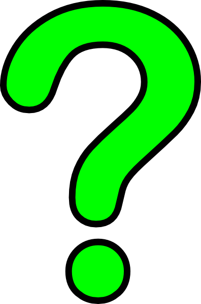 Animated question mark clipart 2