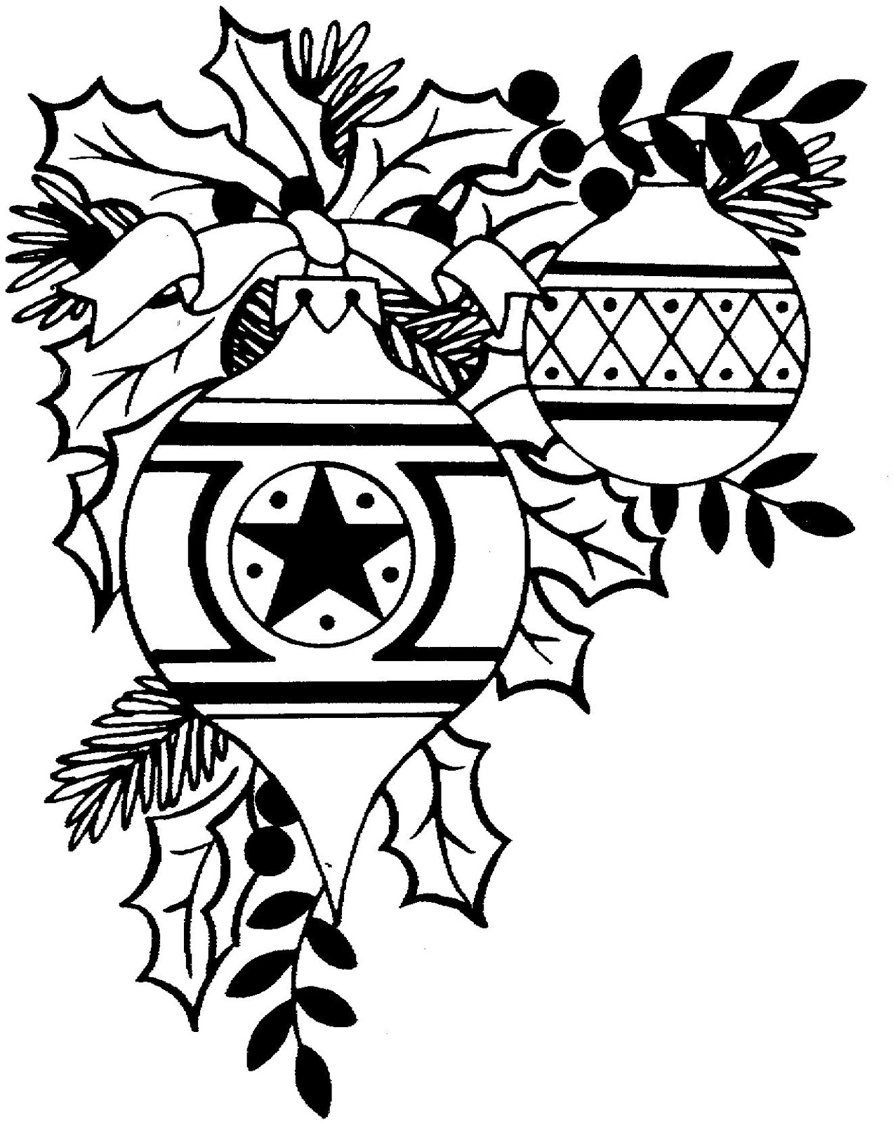 Christmas Black And White Clip Art Black And White Country Christmas Clipart 2