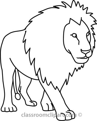 Lion Black And White Lion Clip Art Black And White Free Clipart Images 2 Wikiclipart