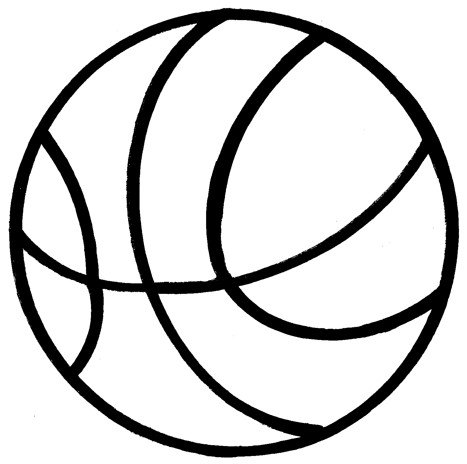 Basketball Black And White Basketball Black And White Clip Art 2