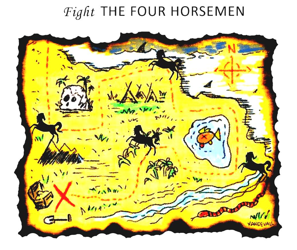 Real Treasure Maps Found Adventure Map For Kids Fight The Four Clipart Wikiclipart