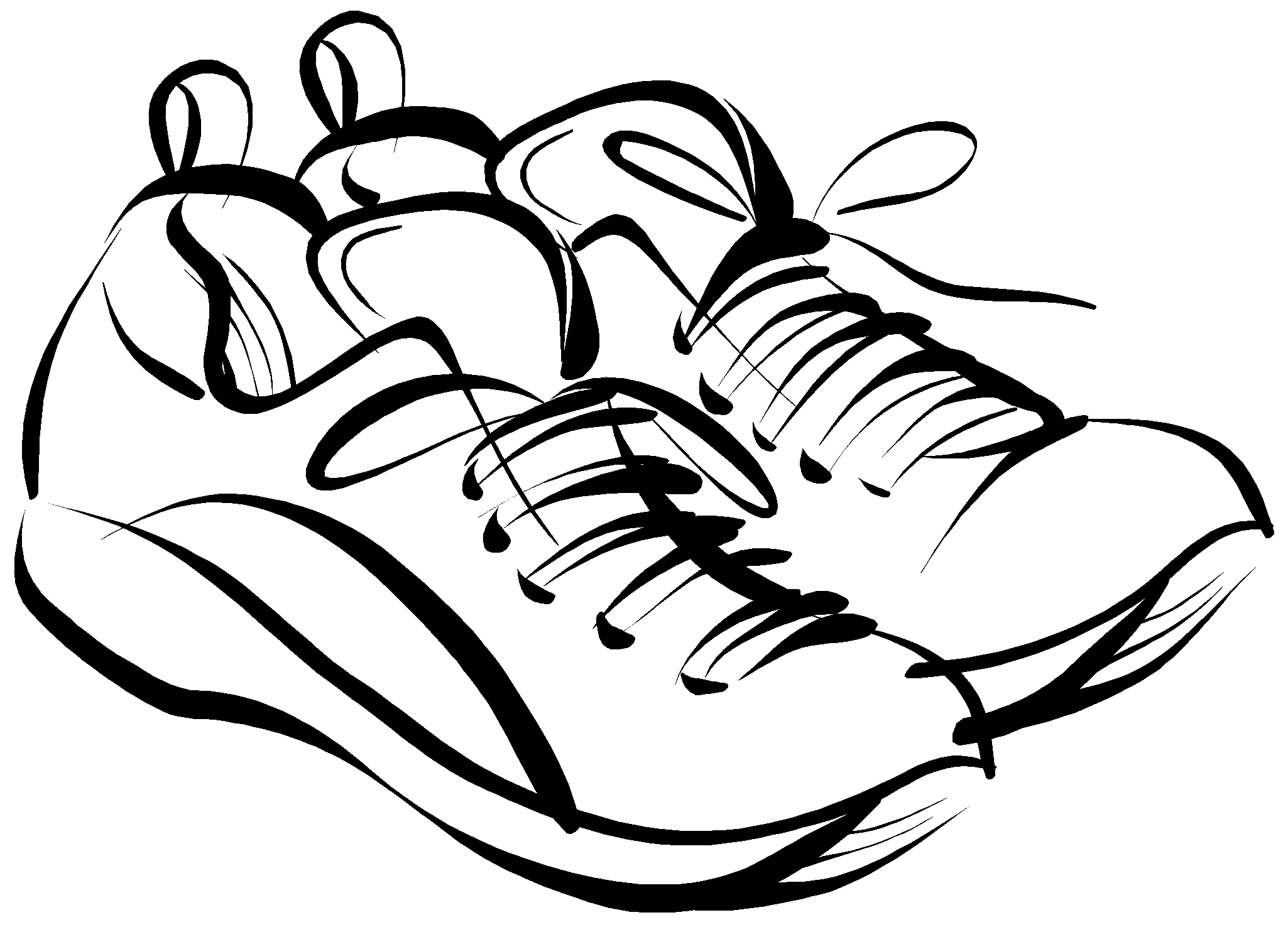 Track Shoe Running Shoes Clipart